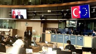 Φραστικό επεισόδιο Ανδρουλάκη -Τσαβούσογλου στο Ευρωκοινοβούλιο