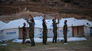 Μυτιλήνη: Άνοιξε η δομή στο Καρά Τεπέ - Συνεχίζεται η κρίση