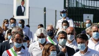 Ιταλία: Παρών ο Κόντε στην κηδεία του 21χρονου που ξυλοκοπήθηκε μέχρι θανάτου