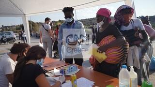Μυτιλήνη: Εντοπίστηκε το πρώτο θετικό κρούσμα στο Καρά Τεπέ