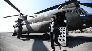 Στο Καστελόριζο η Κατερίνα Σακελλαροπούλου – Για πρόκληση μιλά ο τουρκικός Τύπος