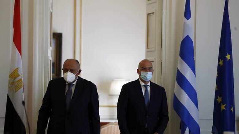 Δένδιας: Υπόδειγμα σεβασμού της καλής γειτονίας η συμφωνία Ελλάδας - Αιγύπτου