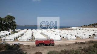 Αποκλειστικές εικόνες: Το CNN Greece μπήκε στον νέο καταυλισμό του Καρά Τεπέ