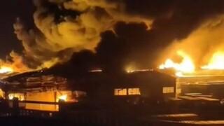 Ιταλία: Φωτιά στο λιμάνι της Ανκόνα- Δεν υπάρχουν θύματα