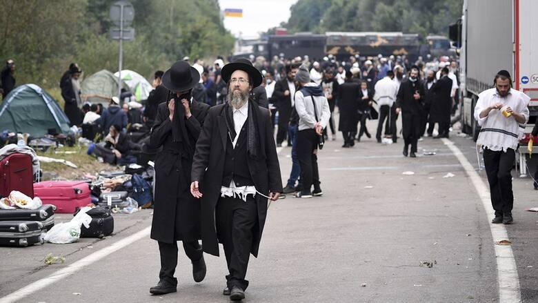Ουκρανία: Δύο χιλιάδες Εβραίοι προσκυνητές έχουν αποκλειστεί στα σύνορα