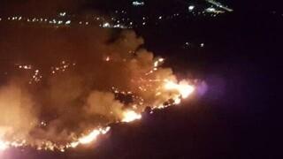 Μεγάλη φωτιά στην Πάτρα