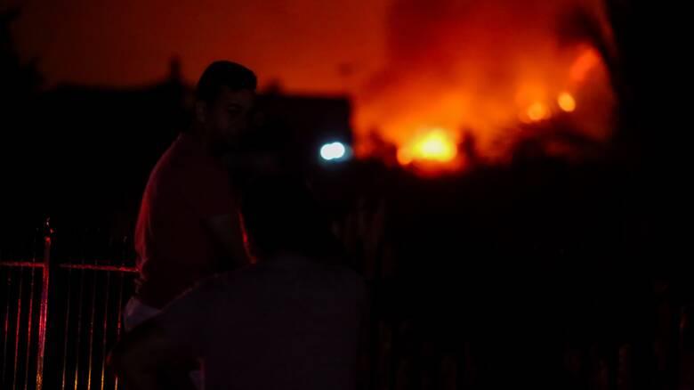 Ολονύχτια μάχη με τις φλόγες σε Πάτρα και Έβρο - Εκκενώθηκαν οικισμοί