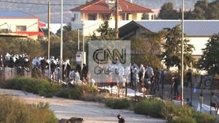 Μυτιλήνη: Επιχείρηση για την μεταφορά μεταναστών στο Καρά Τεπέ