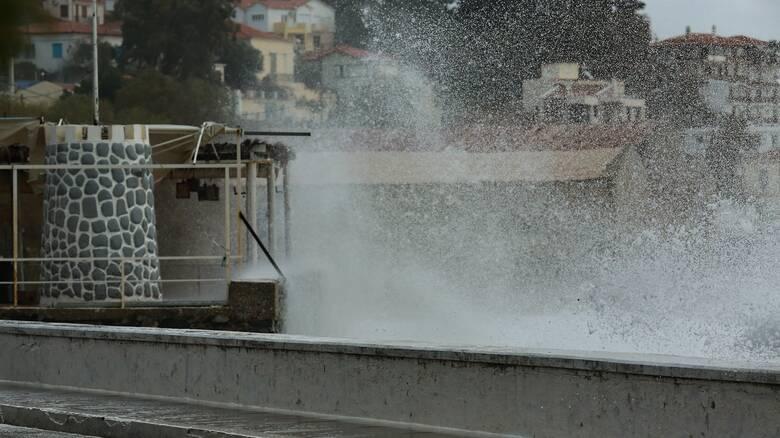 Κακοκαιρία «Ιανός»: Νέο έκτακτο δελτίο επικίνδυνων καιρικών φαινομένων