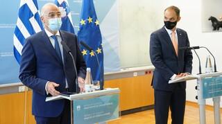 Δένδιας: Εξαρτάται από τη συμπεριφορά της Τουρκίας αν θα εφαρμοστούν οι κυρώσεις της ΕΕ