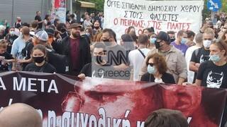Δολοφονία Φύσσα: Αντιφασιστική συγκέντρωση και πορεία μνήμης στο Κερατσίνι