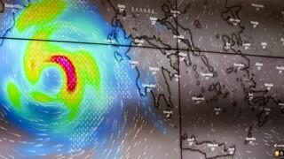 Πρόγνωση καιρού: Στην Αθήνα έρχεται ο «Ιανός»