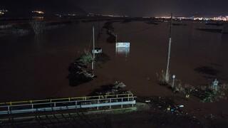 Κακοκαιρία «Ιανός»: Αίσιο τέλος για τους τρεις εγκλωβισμένους στον Αλμυρό