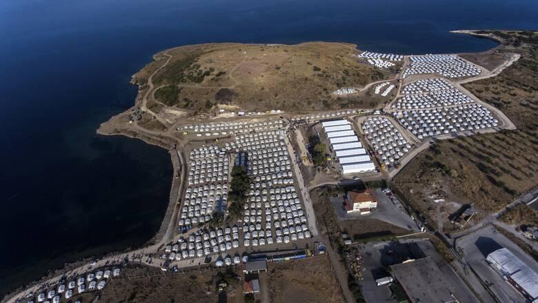 Μυτιλήνη: 9.000 αιτούντες άσυλο στη νέα δομή του Καρά Τεπέ
