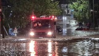 «Ιανός»: Πολύ μεγάλα τα ύψη βροχόπτωσης από την κακοκαιρία