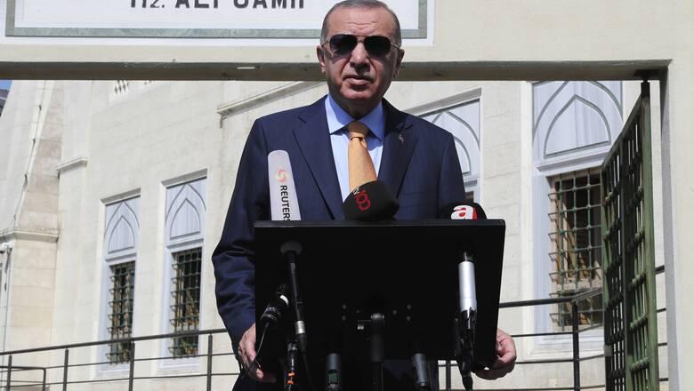 Ερντογάν: Είμαστε ανοικτοί σε διάλογο, δεν κάνουμε βήμα πίσω
