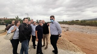 Στον Αλμυρό κλιμάκιο του ΣΥΡΙΖΑ - «Δεν έγινε καμία προετοιμασία για την κακοκαιρία»