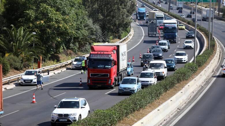 Μποτιλιάρισμα στην Λεωφόρο Αθηνών λόγω τροχαίου - Πού υπάρχουν προβλήματα
