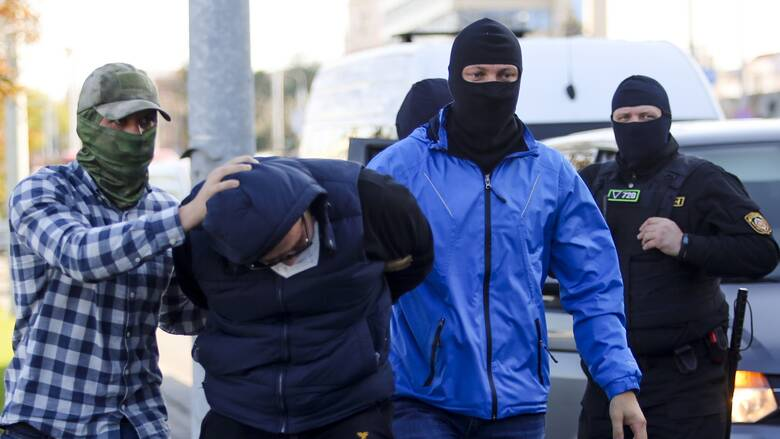 Λευκορωσία: Συνελήφθησαν πάνω από 440 άτομα σε διαδηλώσεις