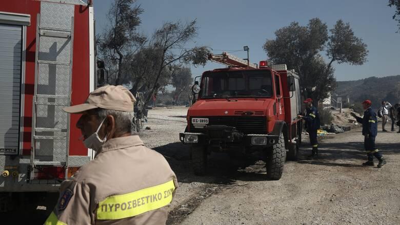 Φωτιά στο ΚΥΤ της Σάμου: Συνελήφθησαν τρεις ανήλικοι αιτούντες άσυλο
