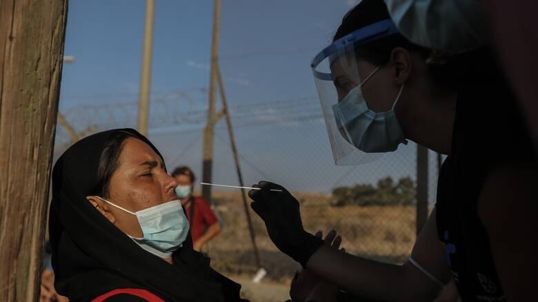 Κορωνοϊός - Μυτιλήνη: 243 κρούσματα εντοπίστηκαν στο ΚΥΤ του Καρά Τεπέ