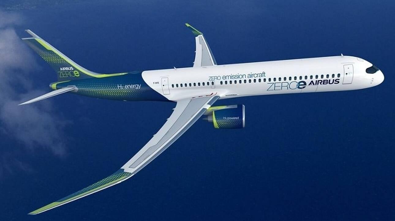 «Ιστορική στιγμή»: Το 2035 το πρώτο «πράσινο» αεροσκάφος της Airbu