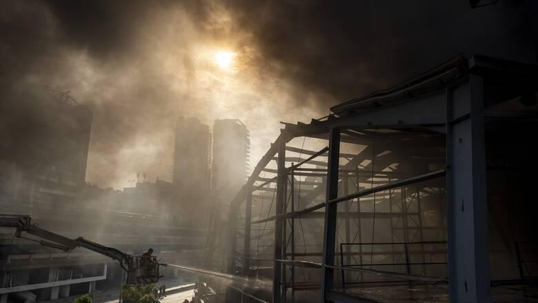 Λίβανος: Έκρηξη σε αποθήκη όπλων της Χεζμπολάχ - Αρκετοί τραυματίες