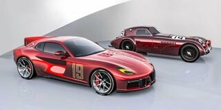 Η Ferrari F12 Aero 3 της Touring Superleggera είναι ό,τι πιο ρετρό κυκλοφορεί