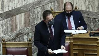 Κόντρα στη Βουλή για την «αντίδραση» της κυβέρνησης στον Ιανό