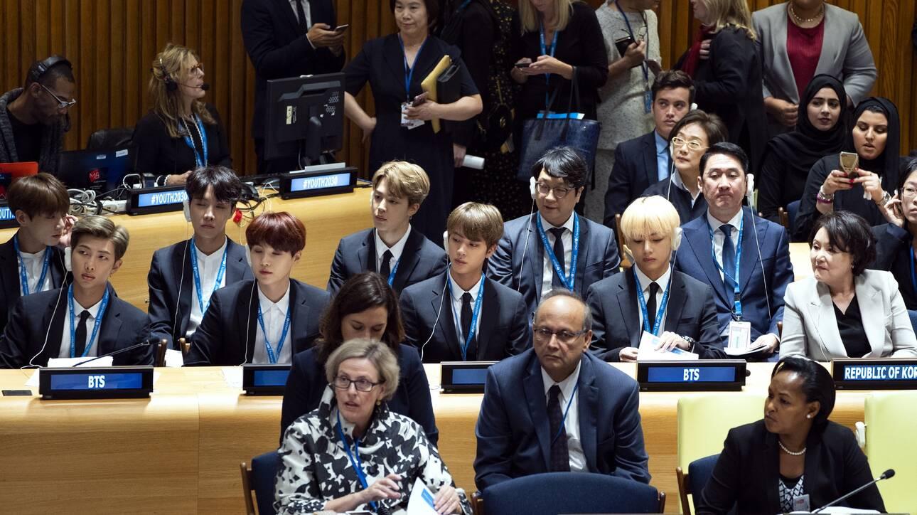 BTS: Θα μεταφέρουν «μήνυμα ελπίδας» από το βήμα της 75ης Γενικής Συνέλευσης του ΟΗΕ