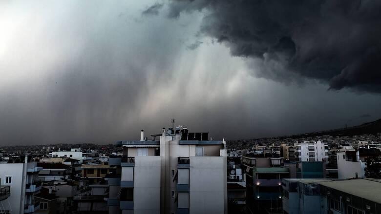 Καιρός: Νέα επιδείνωση με καταιγίδες και χαλάζι - Οδηγίες προς τους πολίτες από τη ΓΓΠΠ