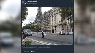 Συναγερμός στο Παρίσι - Απειλή για βόμβα στον Πύργο του Άιφελ