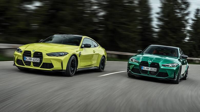 Οι ολοκαίνουργιες BMW M3 και M4 έχουν και μεγάλη μάσκα και μεγάλη ισχύ
