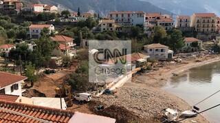 Κεφαλονιά: Εικόνες απόλυτης καταστροφής στην Άσσο από τον κυκλώνα «Ιανό»