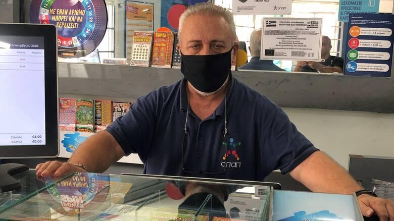 Στην Αθήνα ο νικητής της χρονιάς στο ΛΟΤΤΟ – Τι λέει ο ιδιοκτήτης του τυχερού πρακτορείου ΟΠΑΠ