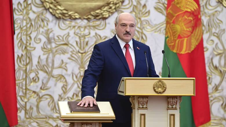 Λευκορωσία: Ο Λουκασένκο επικρίνει όσους δεν τον αναγνωρίζουν ως νόμιμο πρόεδρο της χώρας