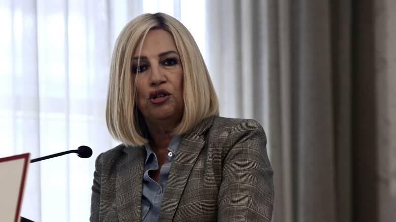 Γεννηματά σε Μητσοτάκη: Η έκκληση για νέα εγρήγορση αφορά πρώτα εσάς και τους υπουργούς σας