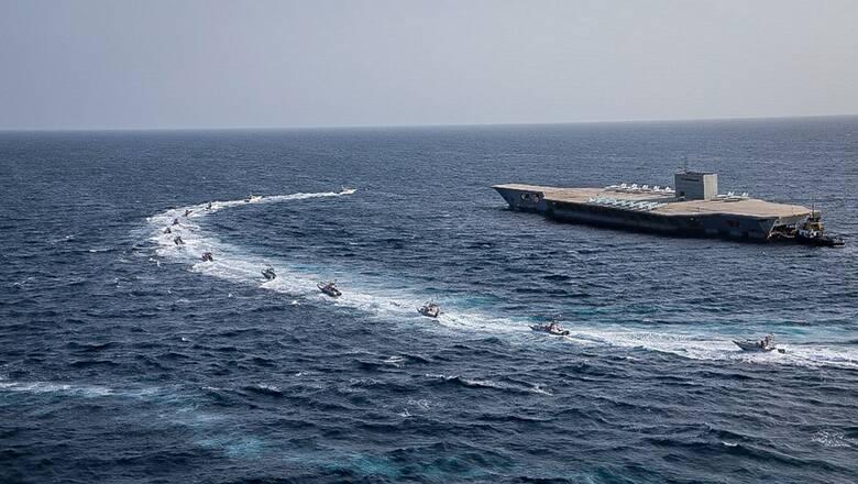 Στενά του Ορμούζ: Νέα ναυτική βάση εγκαινιάζει το Ιράν