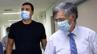 Κορωνοϊός: Κικίλιας - Τσιόδρας ενημέρωσαν την αντιπολίτευση για την πορεία της πανδημίας