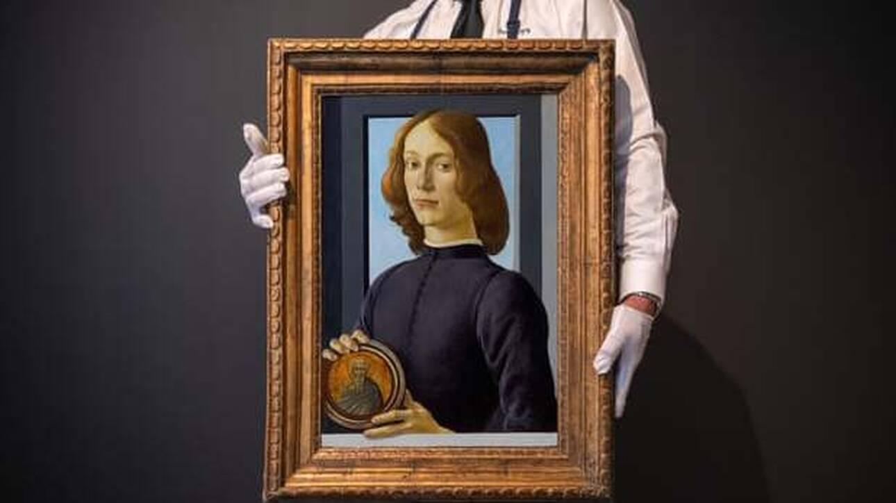 Πίνακας του Μποτιτσέλι αναμένεται να πιάσει 80 εκατομμύρια σε δημοπρασία