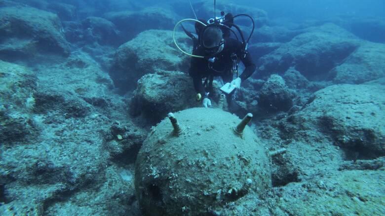 Λακωνία: Εξουδετέρωση γερμανικής νάρκης μέσα στη θάλασσα