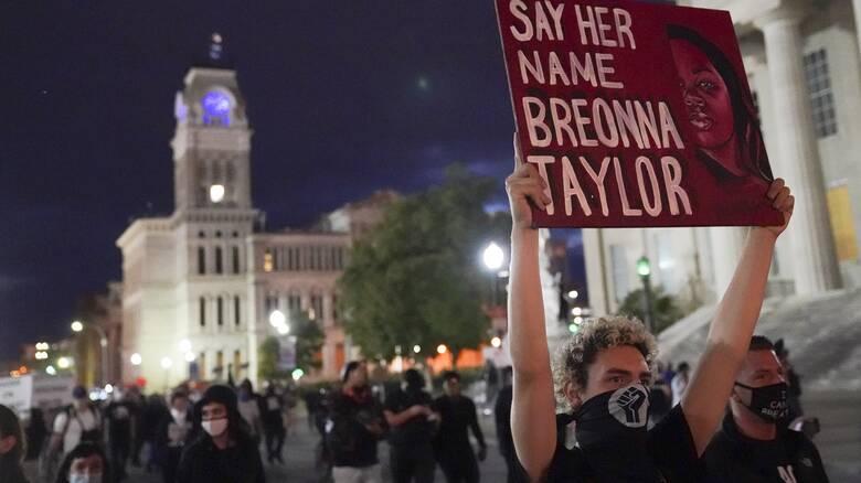 «Δικαιοσύνη για την Μπριόνα Τέιλορ»: Δεύτερη μέρα ταραχών στις ΗΠΑ
