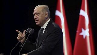 Ερντογάν: Θα προστατεύσουμε τη «Γαλάζια Πατρίδα»