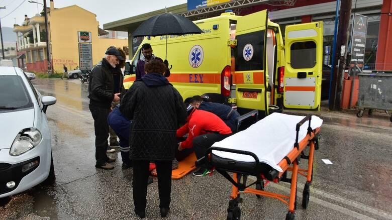 Λαμία: Τροχαίο δυστύχημα με έναν νεκρό και δύο τραυματίες