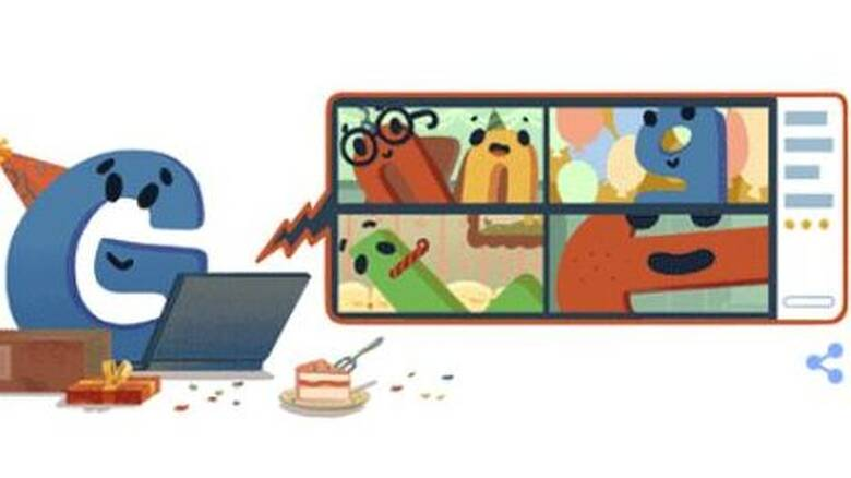 H Google έγινε 22 ετών και γιορτάζει με ένα doodle