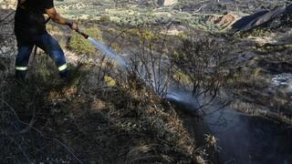 Φωτιά στο ΧΥΤΑ Φυλής: Μικρές εστίες καπνού - Αποχώρησαν οι πυροσβέστες