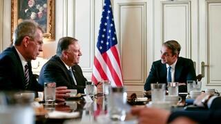 Ο Πομπέο στην Ελλάδα για να ενισχύσει το διπλωματικό «αποτύπωμα» των ΗΠΑ