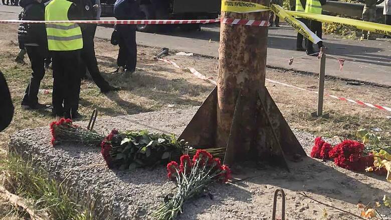Αεροπορική τραγωδία στην Ουκρανία: Η στιγμή της συντριβής του Antonov