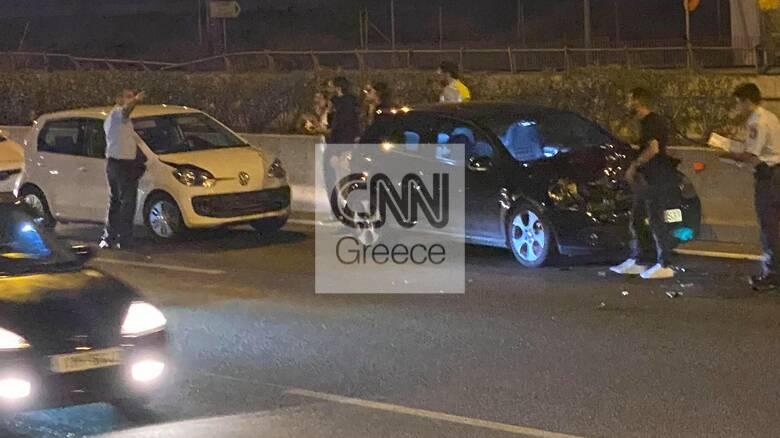 Τροχαίο στην Αθηνών - Λαμίας στο ύψος της Λυκόβρυσης