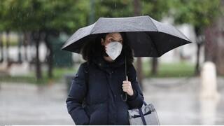 Καιρός: Βροχές, σκόνη και άνεμοι την Δευτέρα - Σε ισχύ το έκτακτο δελτίο της ΕΜΥ